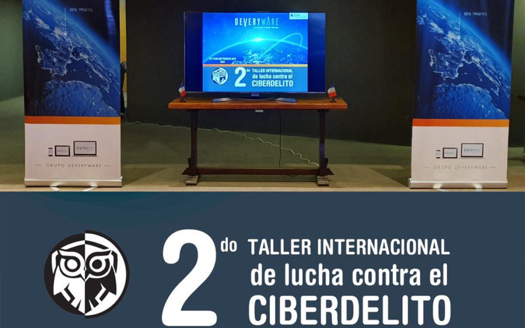 Atelier Ciberdelito et Crime Organisé